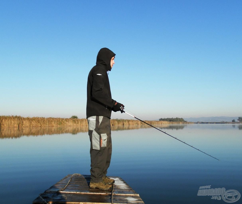 """A jerkelés szerelmeseinek jó """"terep"""" ez a tó"""