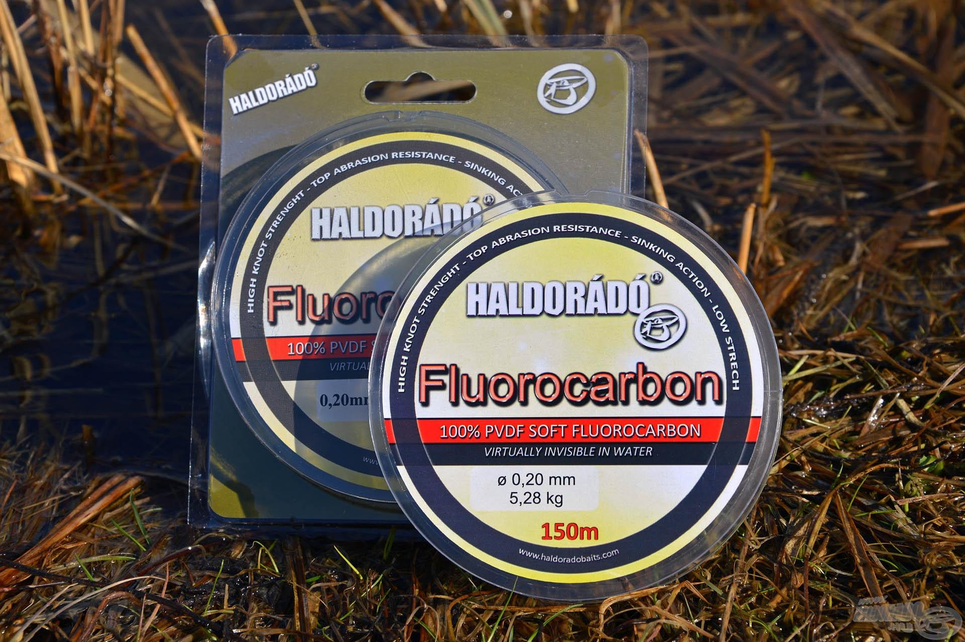 A Haldorádó Fluorocarbon egy 100%-os tisztaságú, prémium minőségű fluorocarbon sorozat