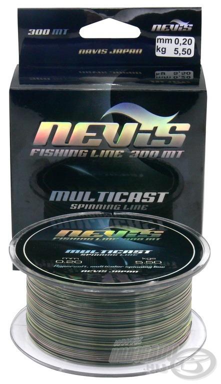 A Multicast speciális, többszínű, félkemény zsinór, amelyet elsősorban pergető horgászathoz fejlesztettek
