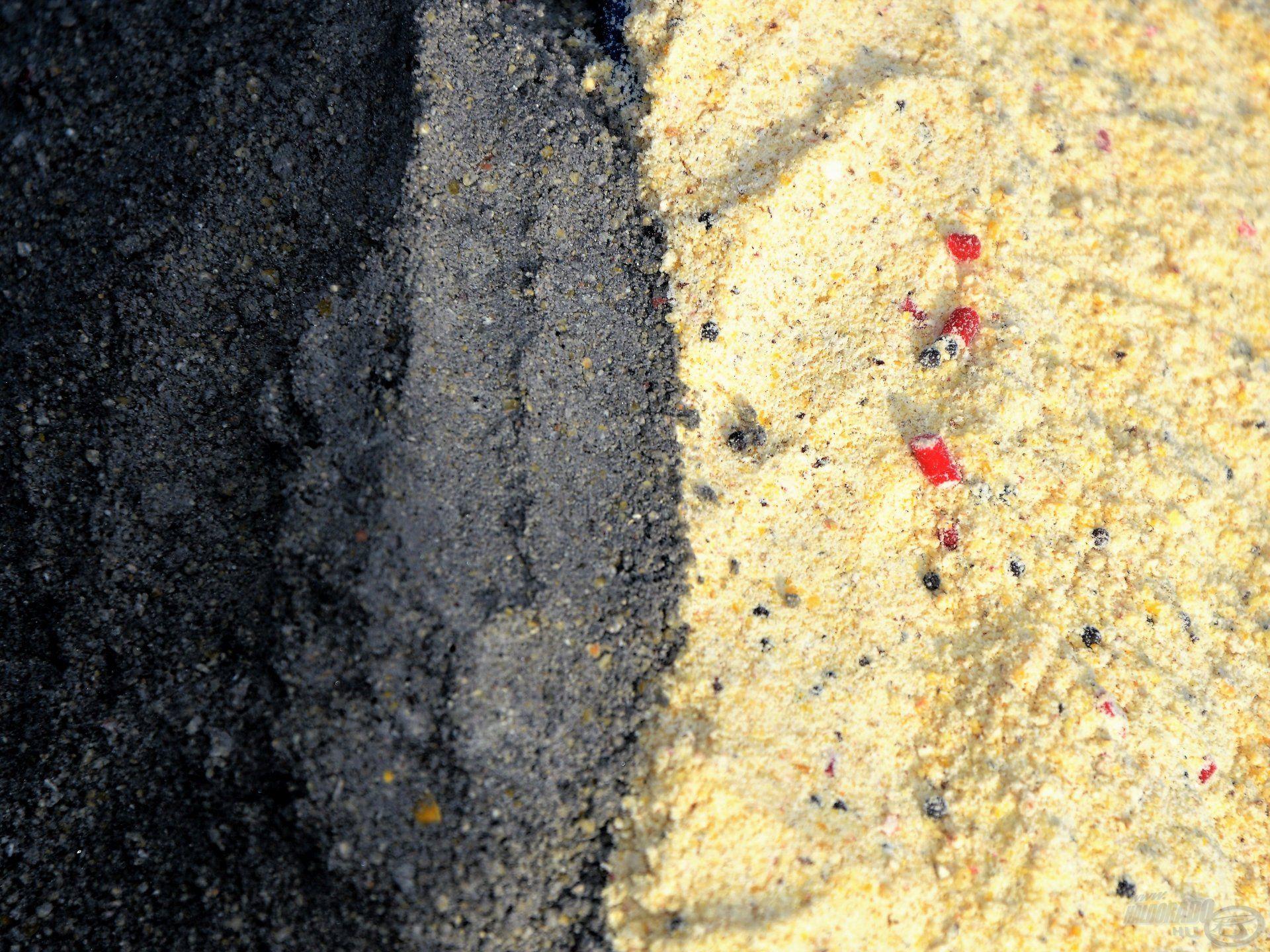 Akár a hófehér etetőanyagot is koromfeketére lehet festeni a segítségével