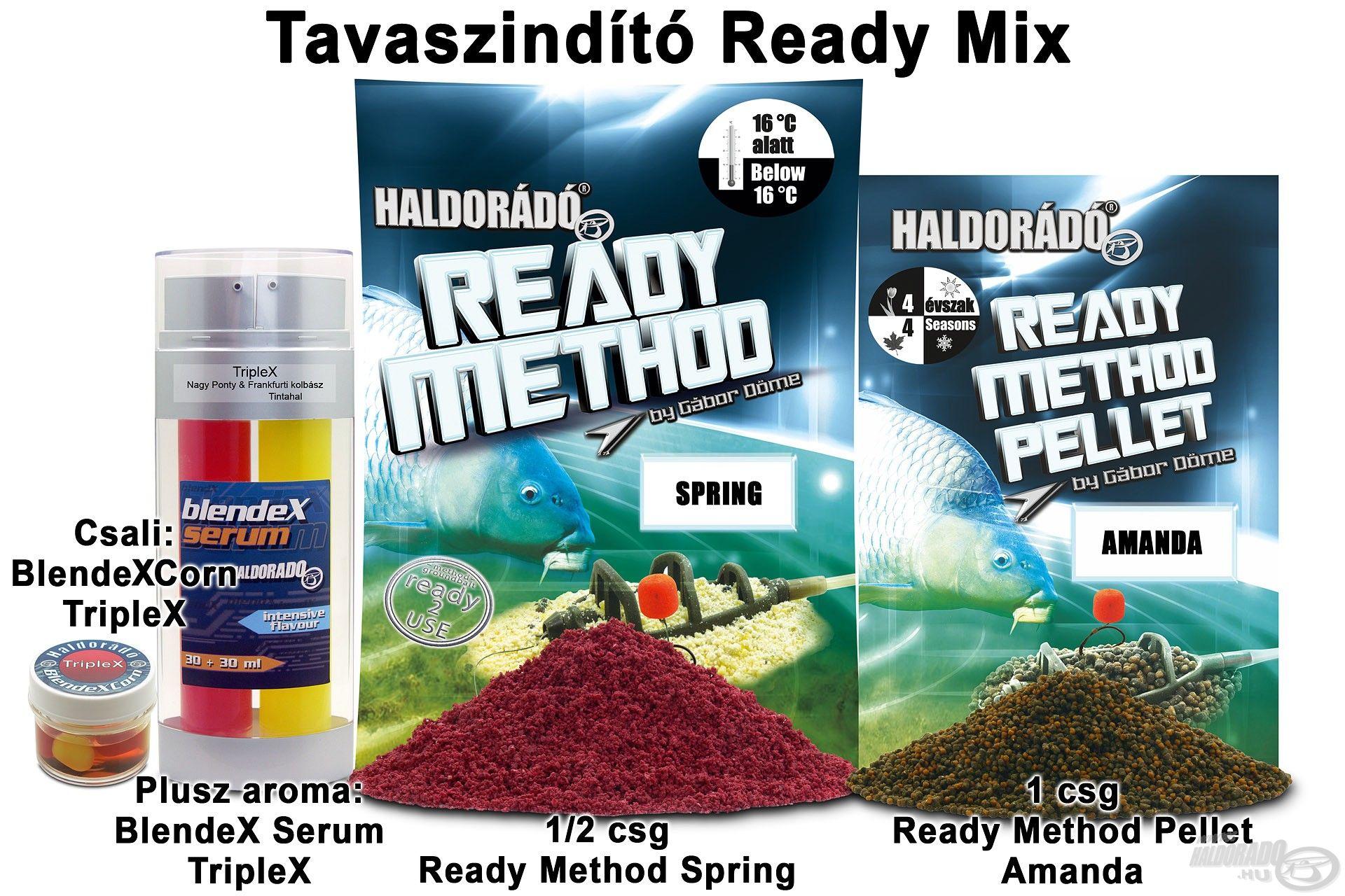 Tavaszindító Ready Mix