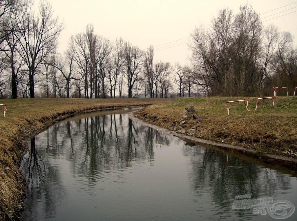 Kevés vízzel fogadott rég ismert csatornám