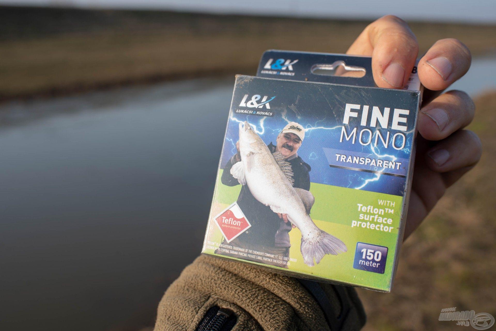 Az L&K Fine Mono a tiszta vizekben is kiválóan használható