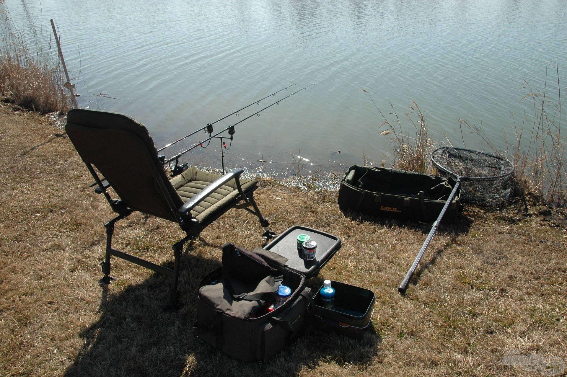 A kereső horgászathoz nem kell sok felszerelés