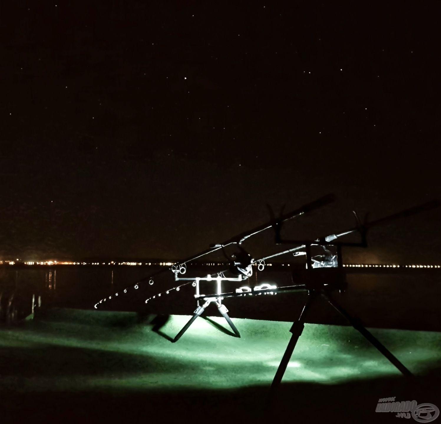 Ezért szeretem az éjszakai horgászatok hangulatát