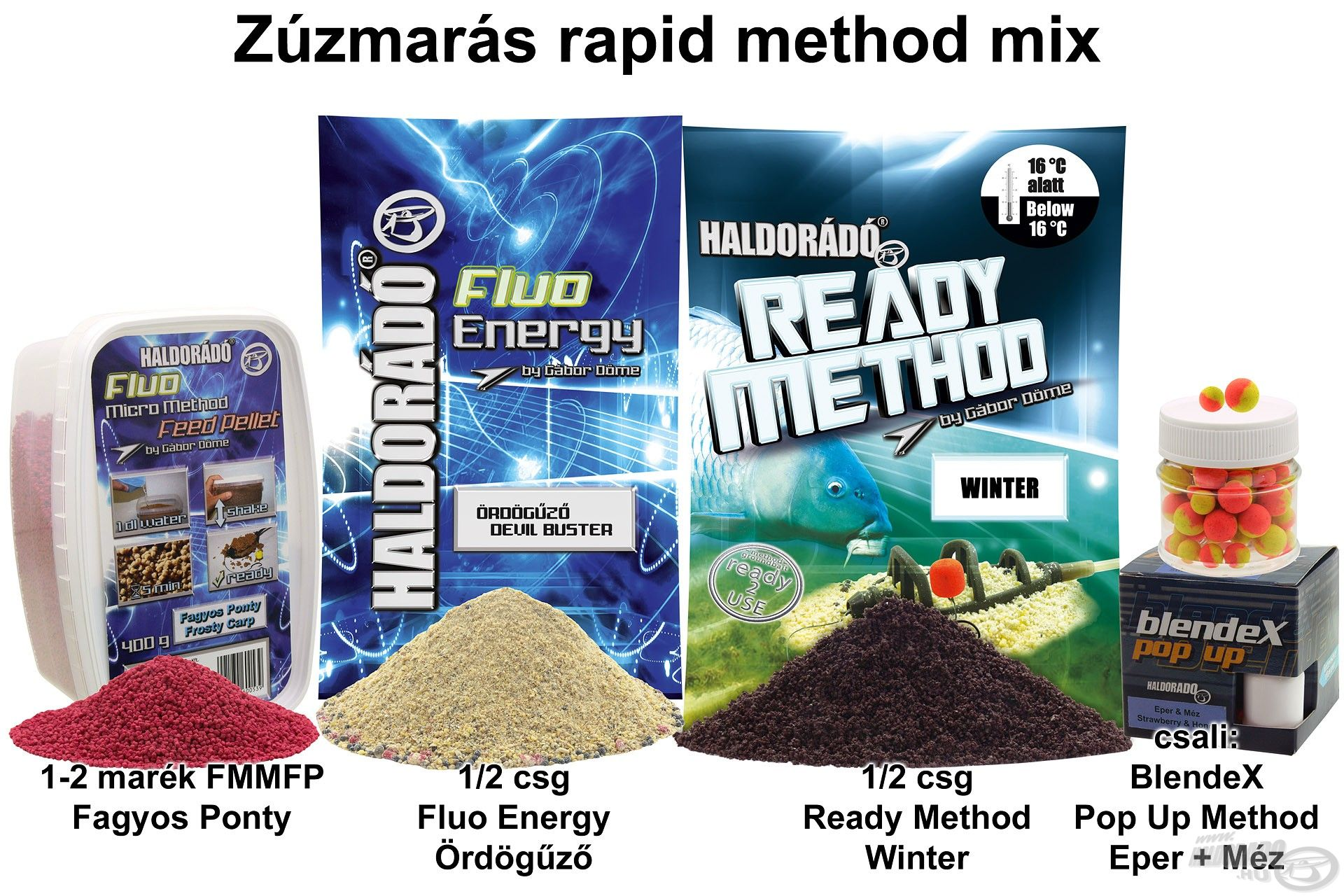 Zúzmarás rapid method mix