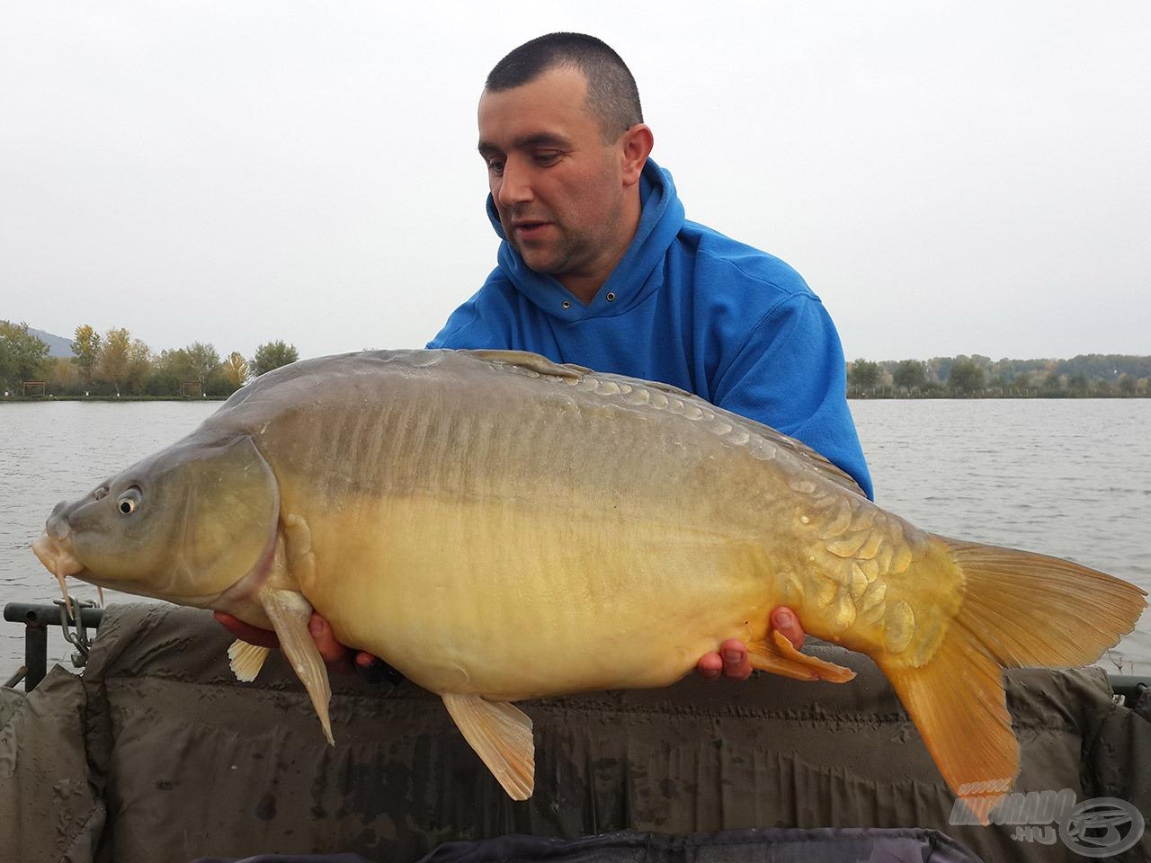 """A """"Big Fish"""": 11,7 kg"""