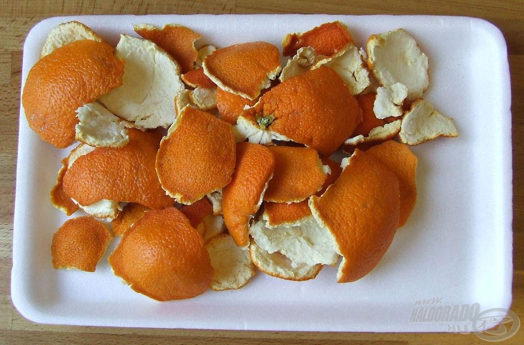 Téli meló nyárra, avagy mire jó a narancshéj?