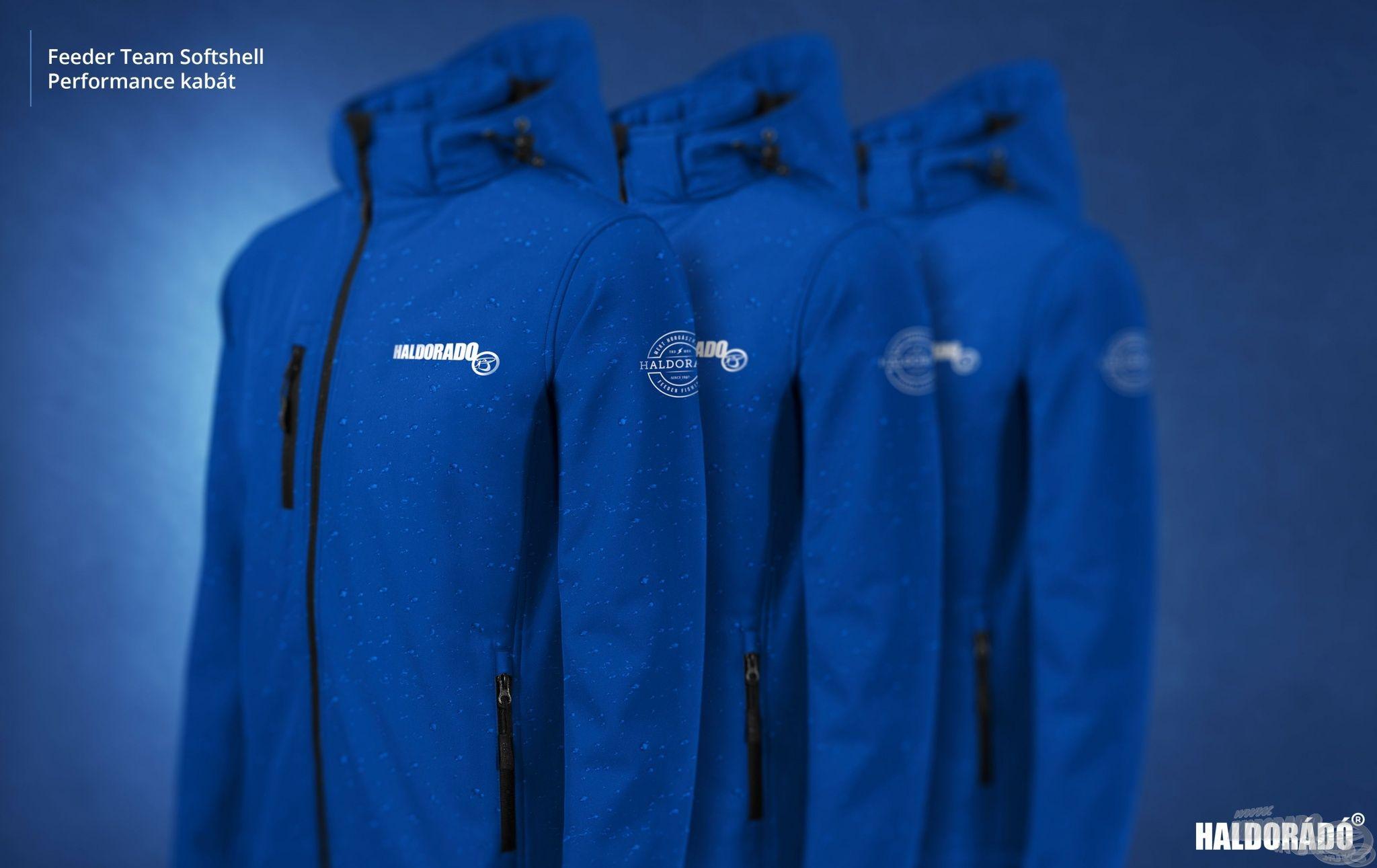 Íme, az új HALDORÁDÓ Feeder Team Softshell Performance kabát-kollekció!