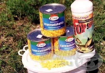 A nyerő kombináció natúr csemegekukorica+Amino-Dope