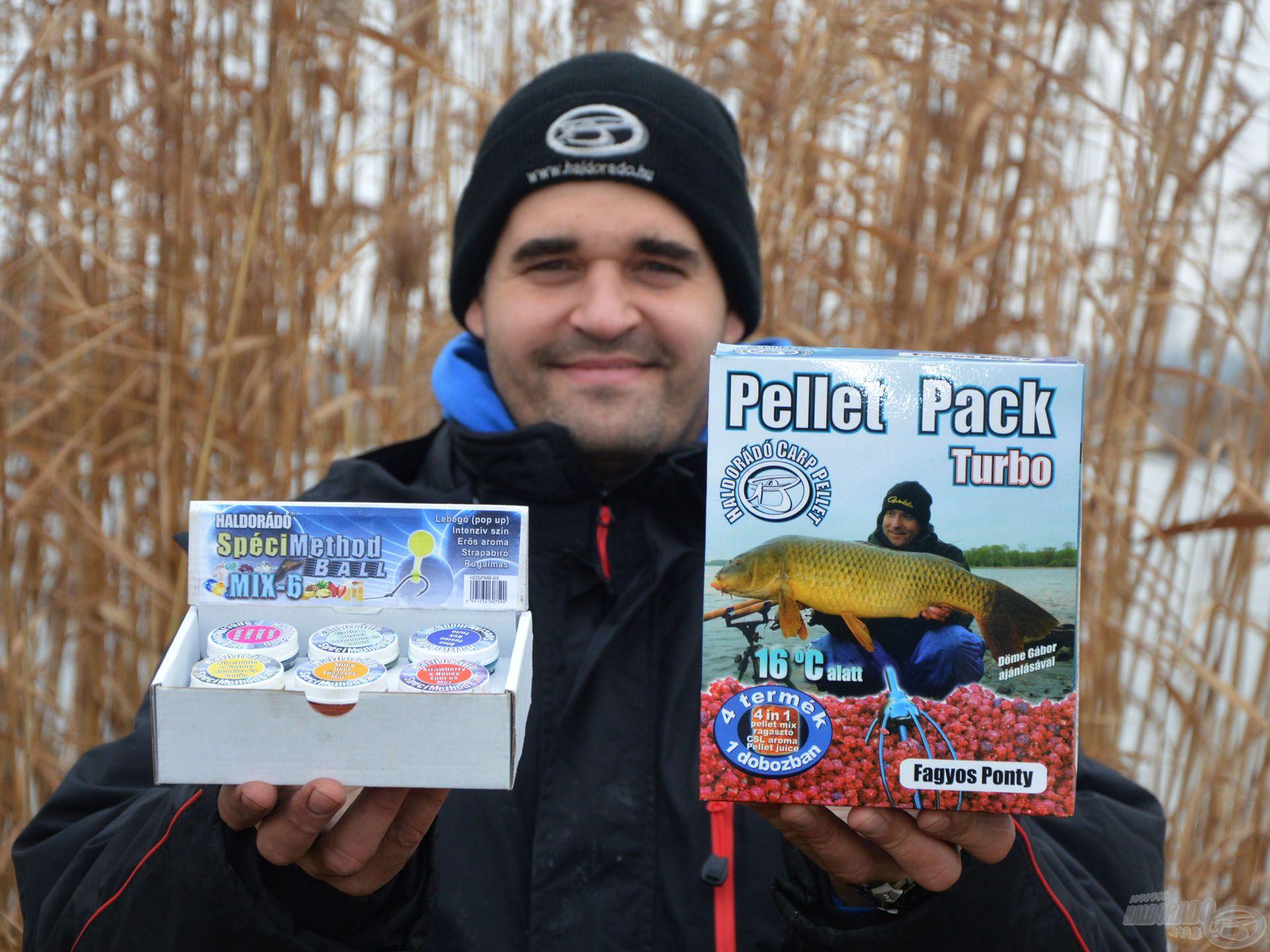 A SpéciMethod Ball és a Pellet Pack (Turbo) eredményesen használhatóak együtt is