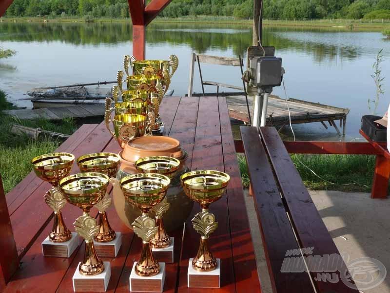 A verseny díjai