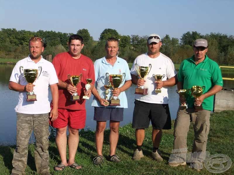 TOP MIX Országos Finomszerelékes Pontyfogó Bajnokság, 2012, Baté