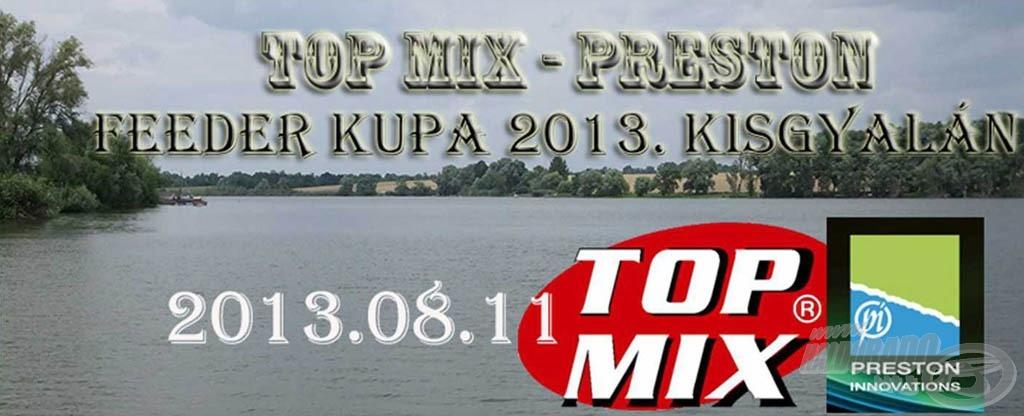 Top Mix - Preston Feeder Kupa versenykiírás