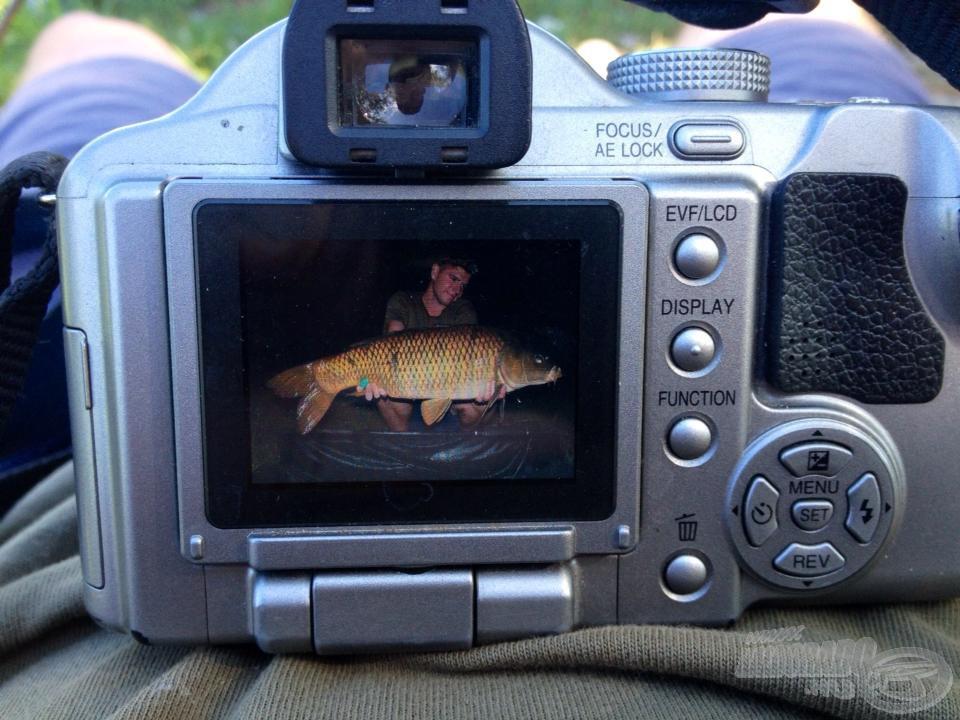 A lényeg, amiért minden fáradság és áldozat kifizetődik, hiszen a halról a kép, az élmény örökre a mienk!