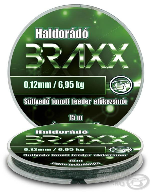 Haldorádó Braxx a süllyedő fonott feeder előkezsinór