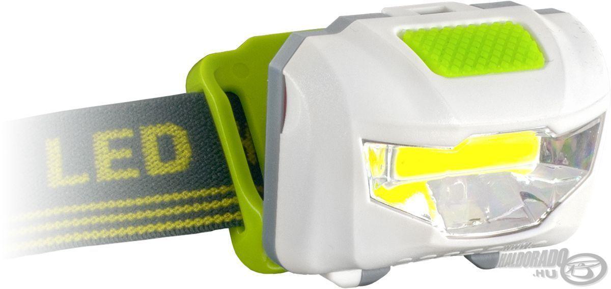 Ebben a fejlámpában mindössze 1 COB LED található, az viszont mindent megvilágít, amit látni akarunk