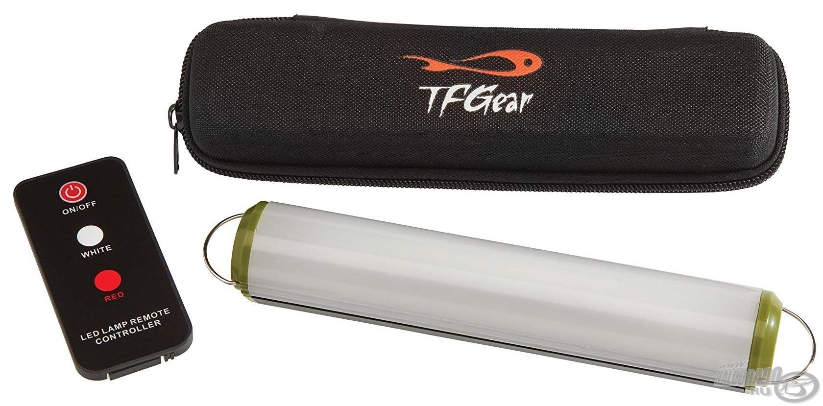 TF GEAR Night Spark egy nagy teljesítményű sátorlámpa és egy tápegység, amely minden pontyhorgásznak és kempingezőnek nagy hasznára lehet