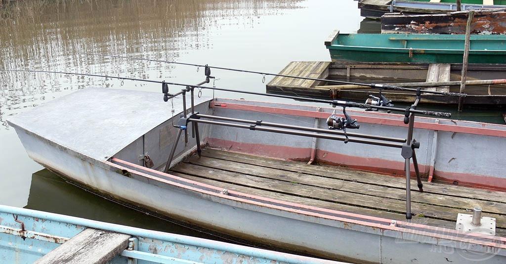 Akár csónakos bojlis botként is remekül szolgál