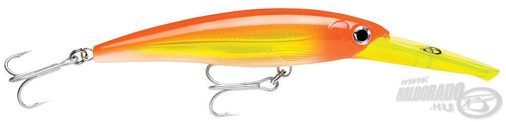Ez a wobbler sós vízi horgászathoz is használható