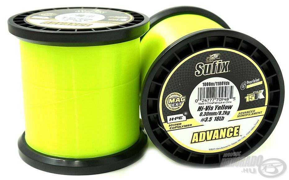 Az Advance Hi Vis Yellow egyedülálló tulajdonságaival messze felülmúlta a vetélytársait