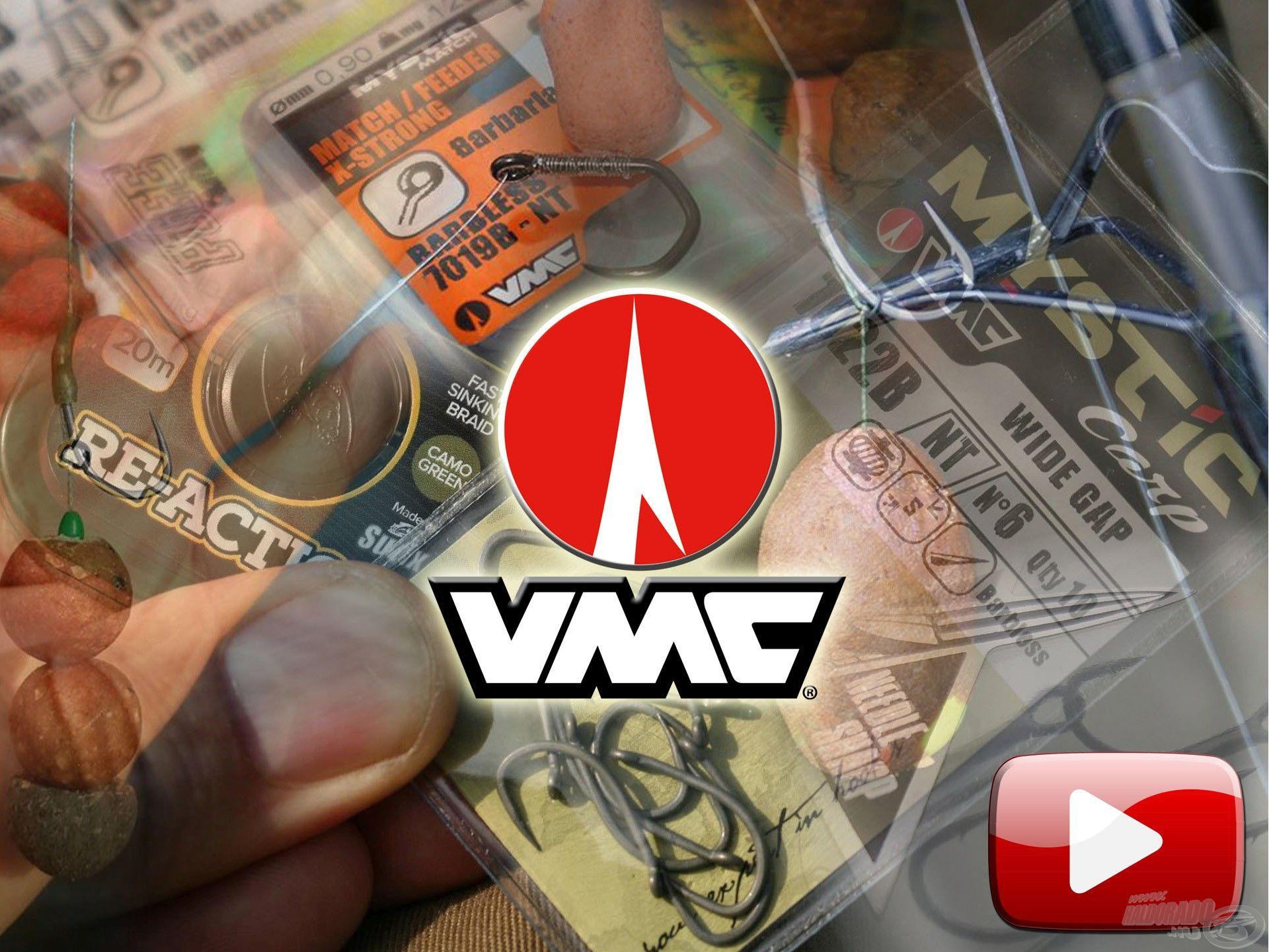 Új VMC termékek és kiegészítők a Haldorádó kínálatában