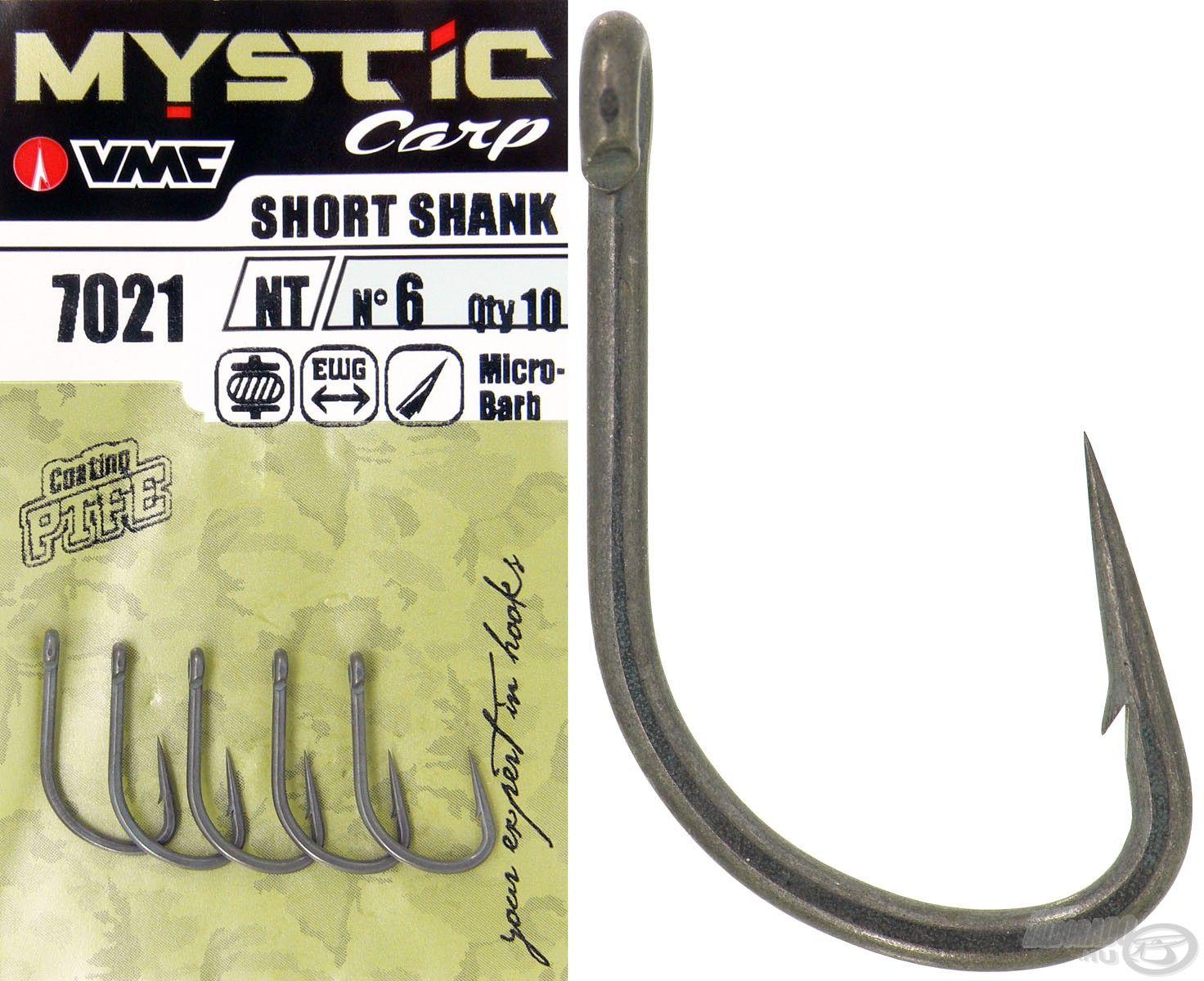 A Mystic Carp Short Shank egy speciális szögben visszahajtott, meghosszabbított horogheggyel rendelkező típus, ami tökéletes és rettentően stabil akadást biztosít