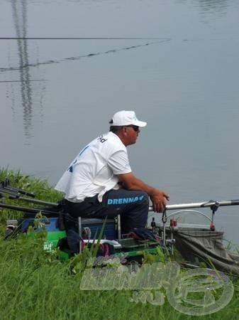 Scotthorne-nak most nem jött össze, pedig nem felejtett el horgászni