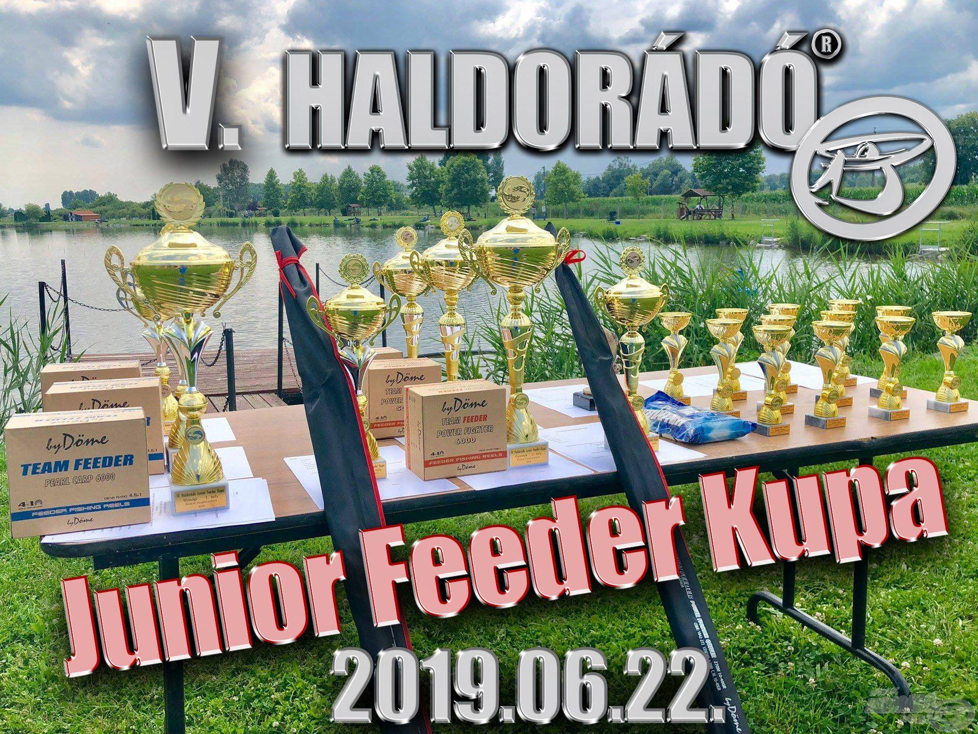 Találkozzunk a V. Haldorádó Junior Feeder Kupán!
