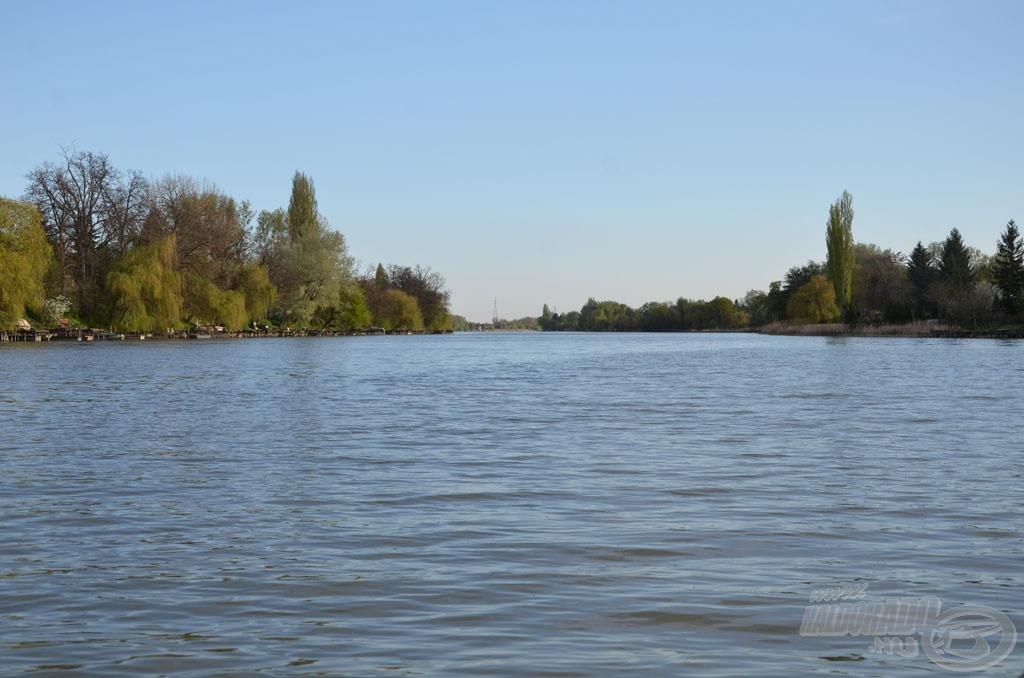 Így néz ki a Ráckevei (Soroksári)-Duna-ág kiskunlacházi szakasza