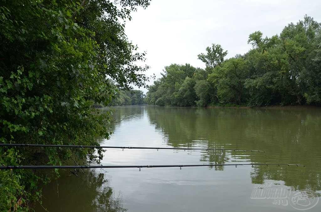 Nem győztem betelni a kis folyó szépségével és változatosságával