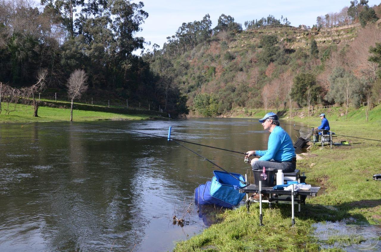 … mire ezt horgászatra alkalmas területté szelídítették!
