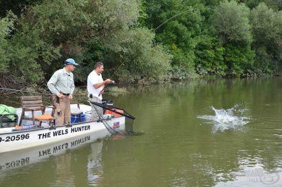 Vadvízi kalandok 24. rész - Csónakos feederezés a Vág folyón