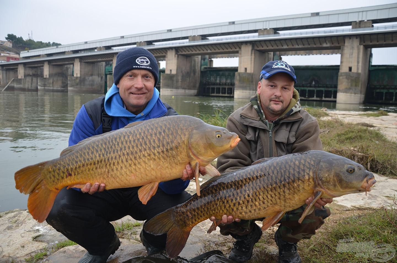 """A ráadás horgászatokon, más helyszíneken is örömmel nyugtáztuk, hogy az """"Ebro Method"""" jól működik!"""