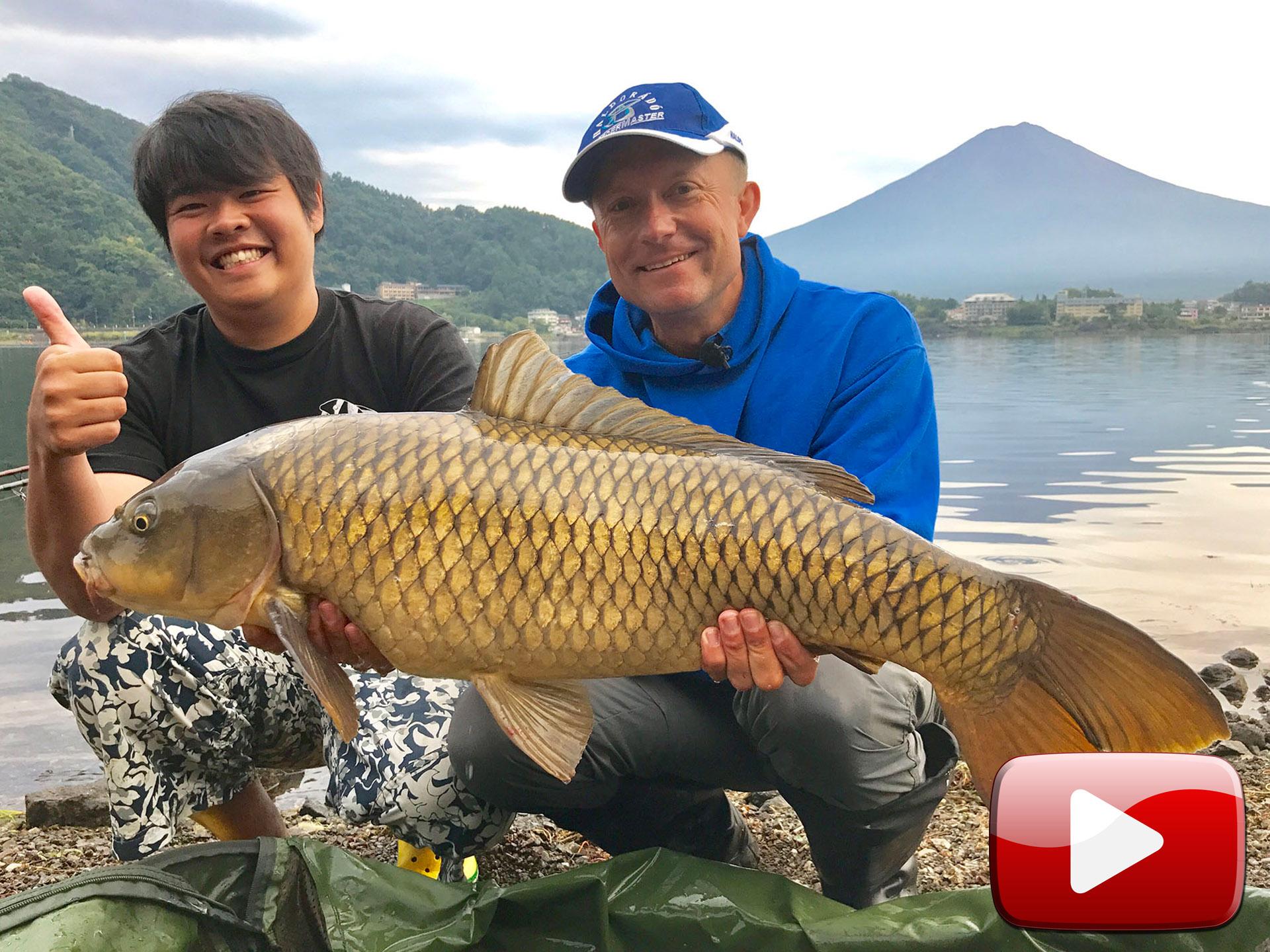 Vadvízi kalandok 32. rész – Japán pontyok a Kawaguchi-tóból