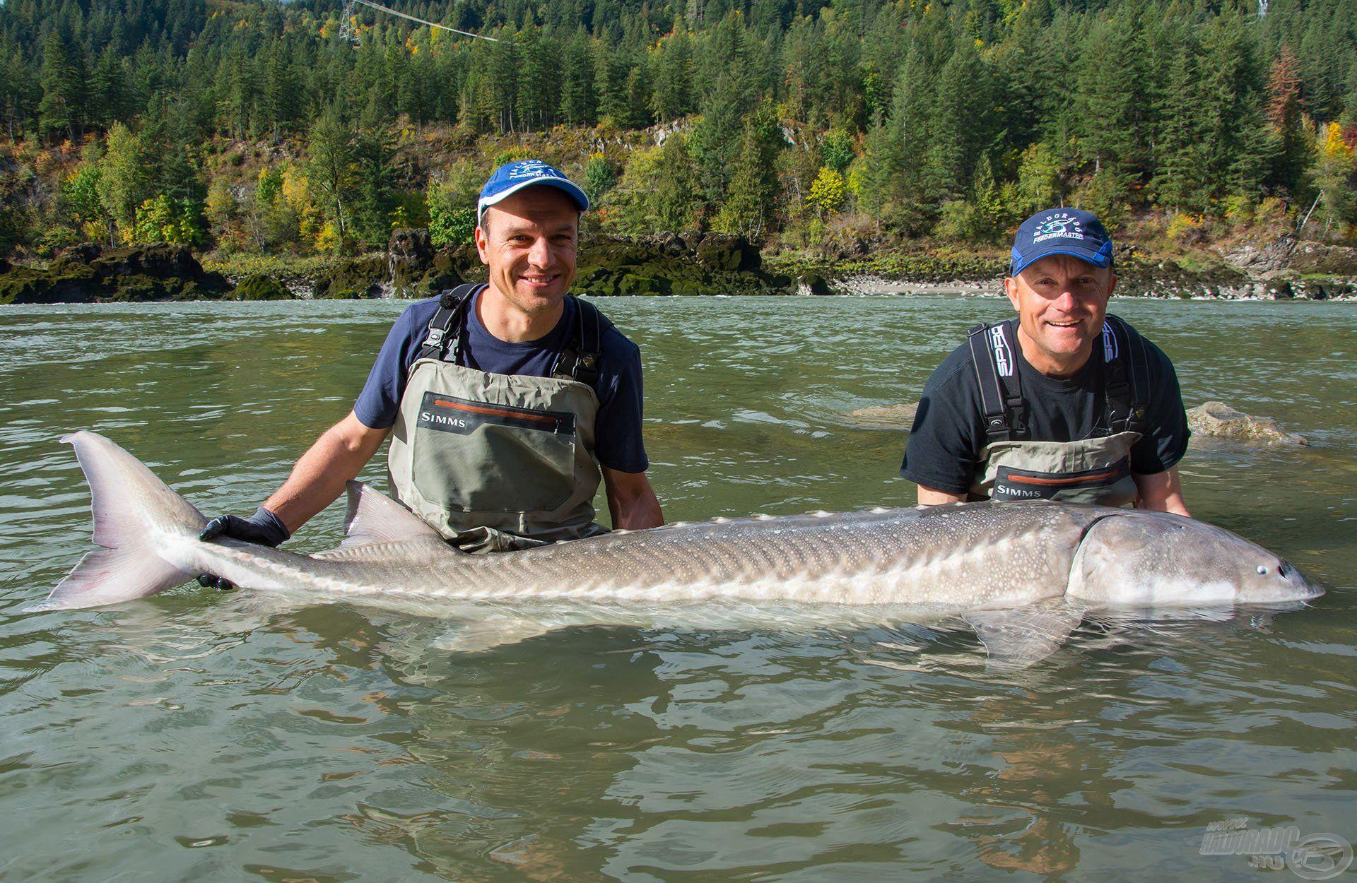 Ilyen halért örömmel megy az ember a pár fokos folyóba