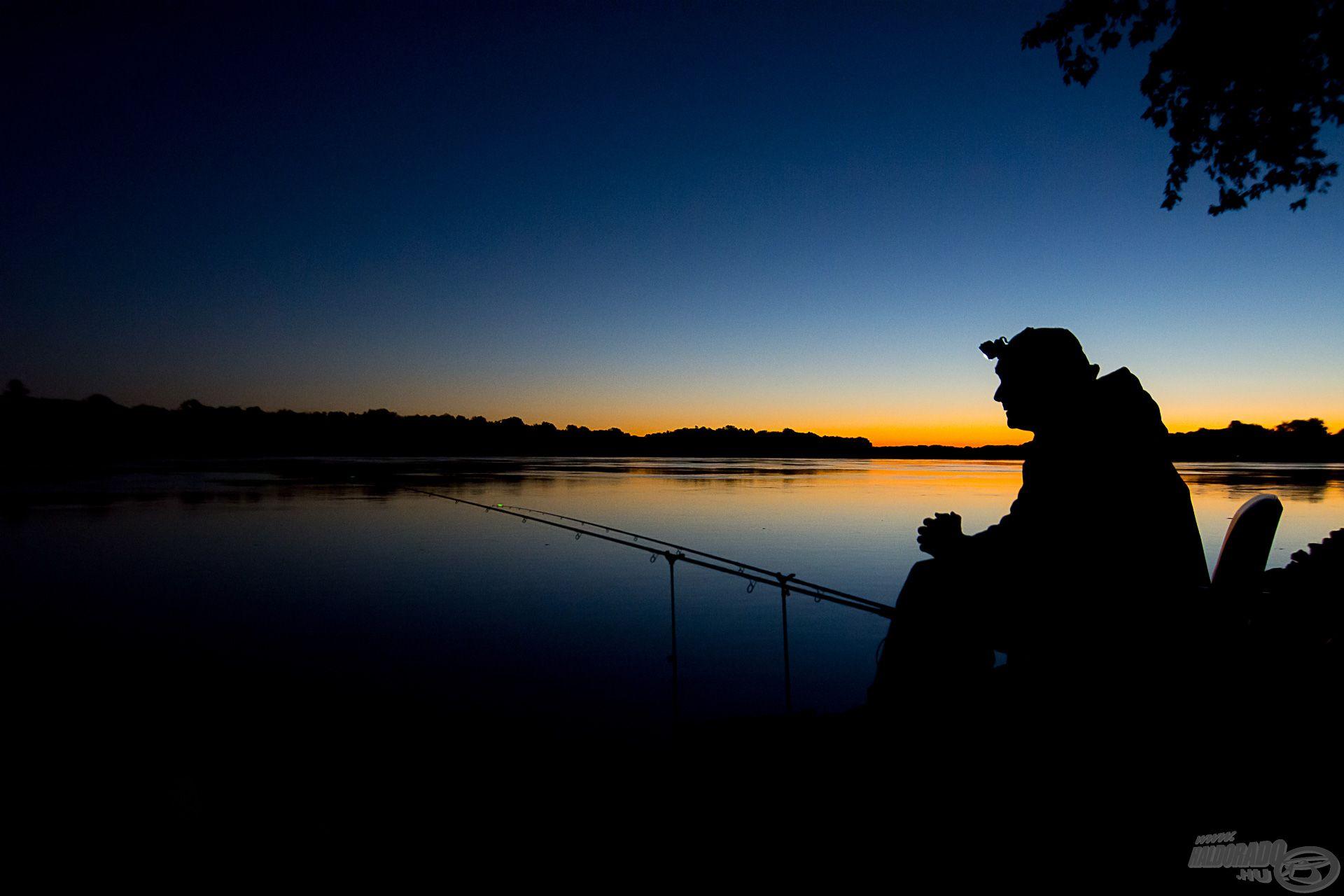A dunai horgászatok nálam kora hajnalban kezdődnek…