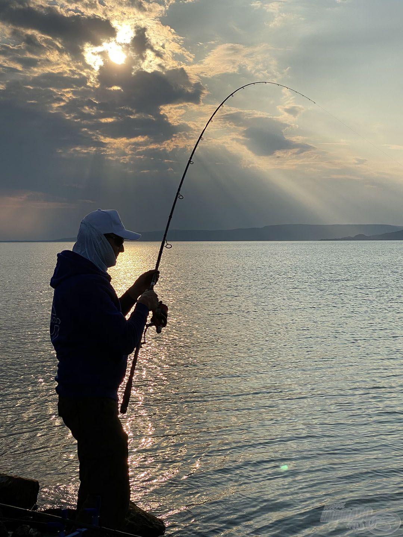 Fantasztikus érzés ilyen környezetben horgászni