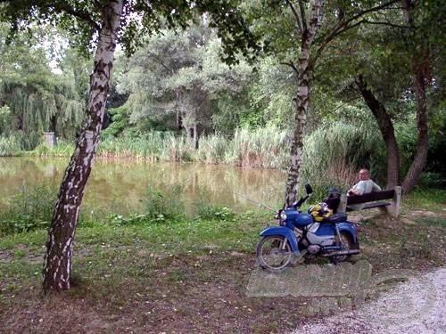 A félszigeten is leülhetünk horgászni