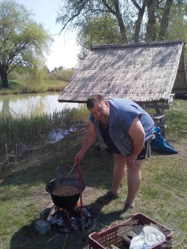 Barát, horgásztárs, és isteni szakács