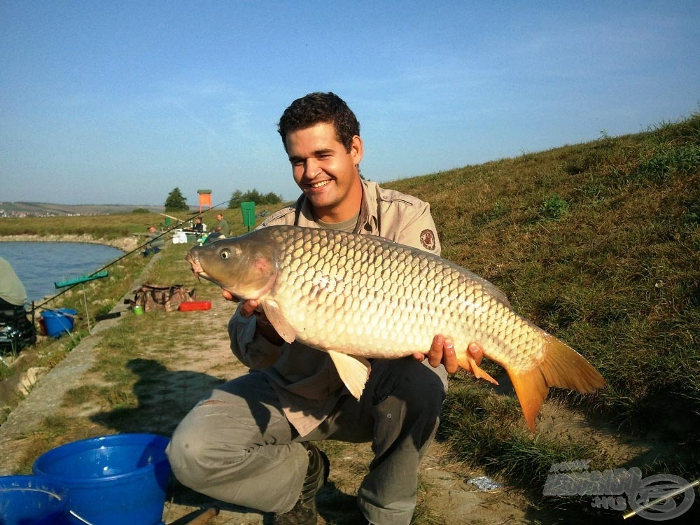 Máskor is horgásztam már nagy pontyra Maconkán