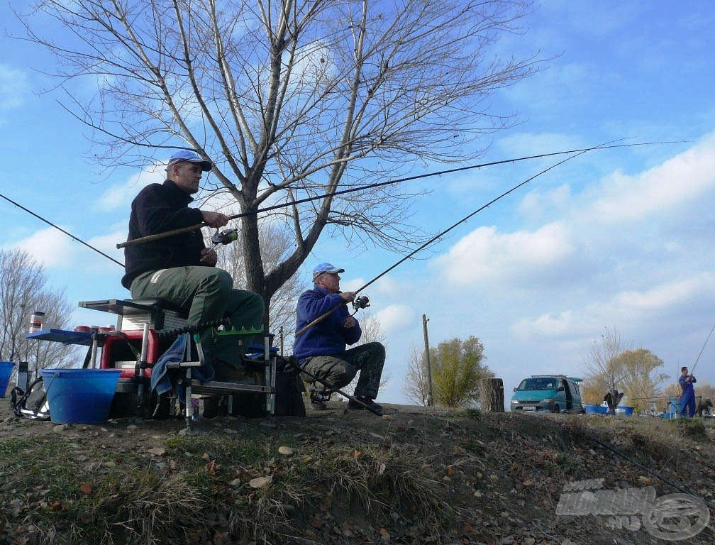 Az ilyen közös horgászatok tapasztalatai sokat érnek!
