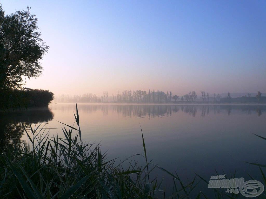 Párás, ködös reggel