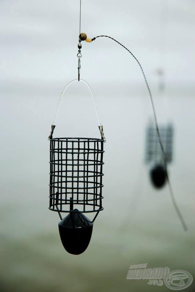 A nagy távolságú horgászatokhoz a Bullet Feedert használtuk (Fotó:  Alexander Yevmenenko)