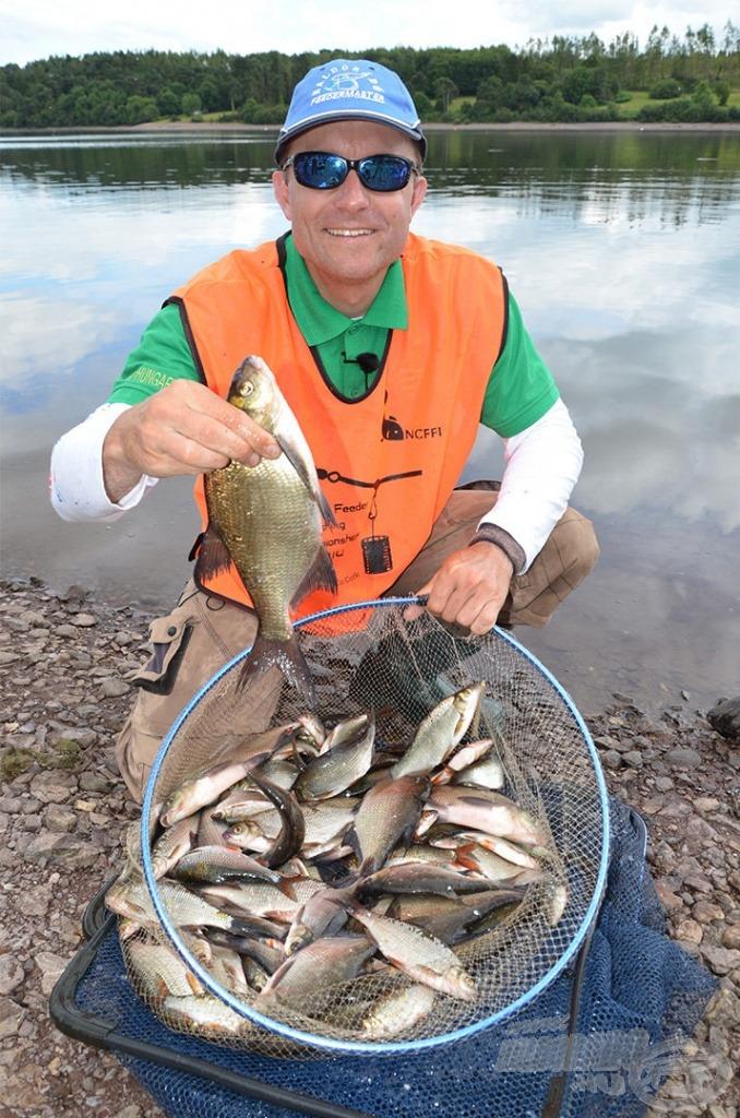 A 81 db hal szektor 4. helyezést eredményezett