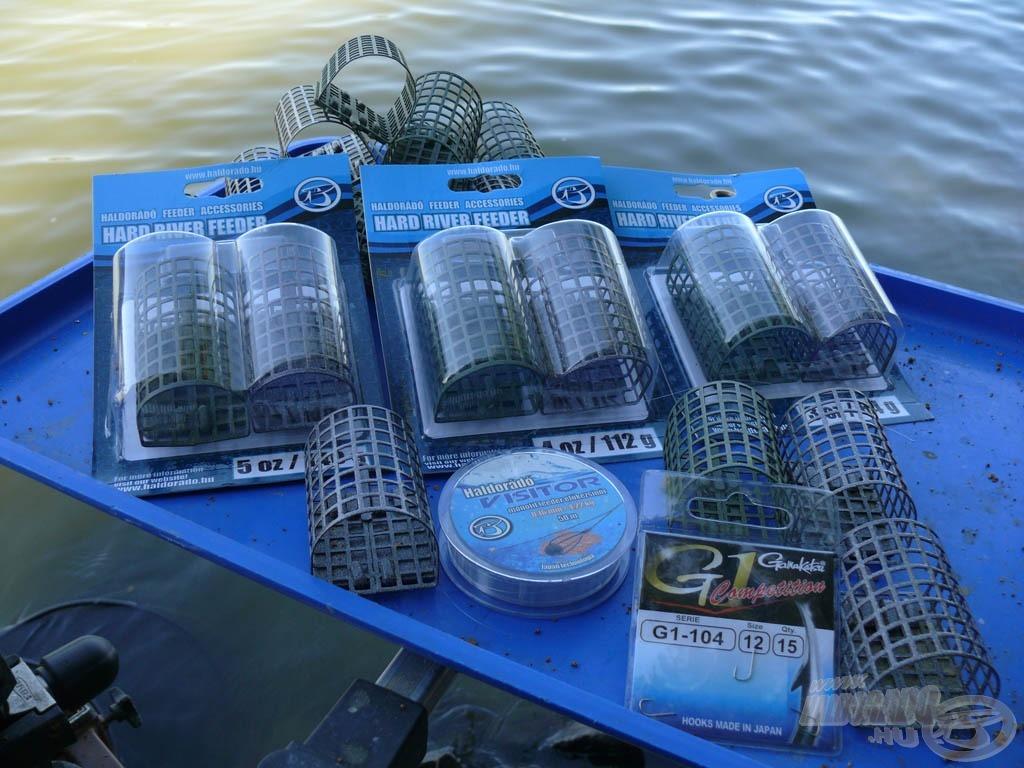 A Haldorádó Hard River feederkosár-család a legerősebb sodrású folyóvizek eredményes horgászatához készült