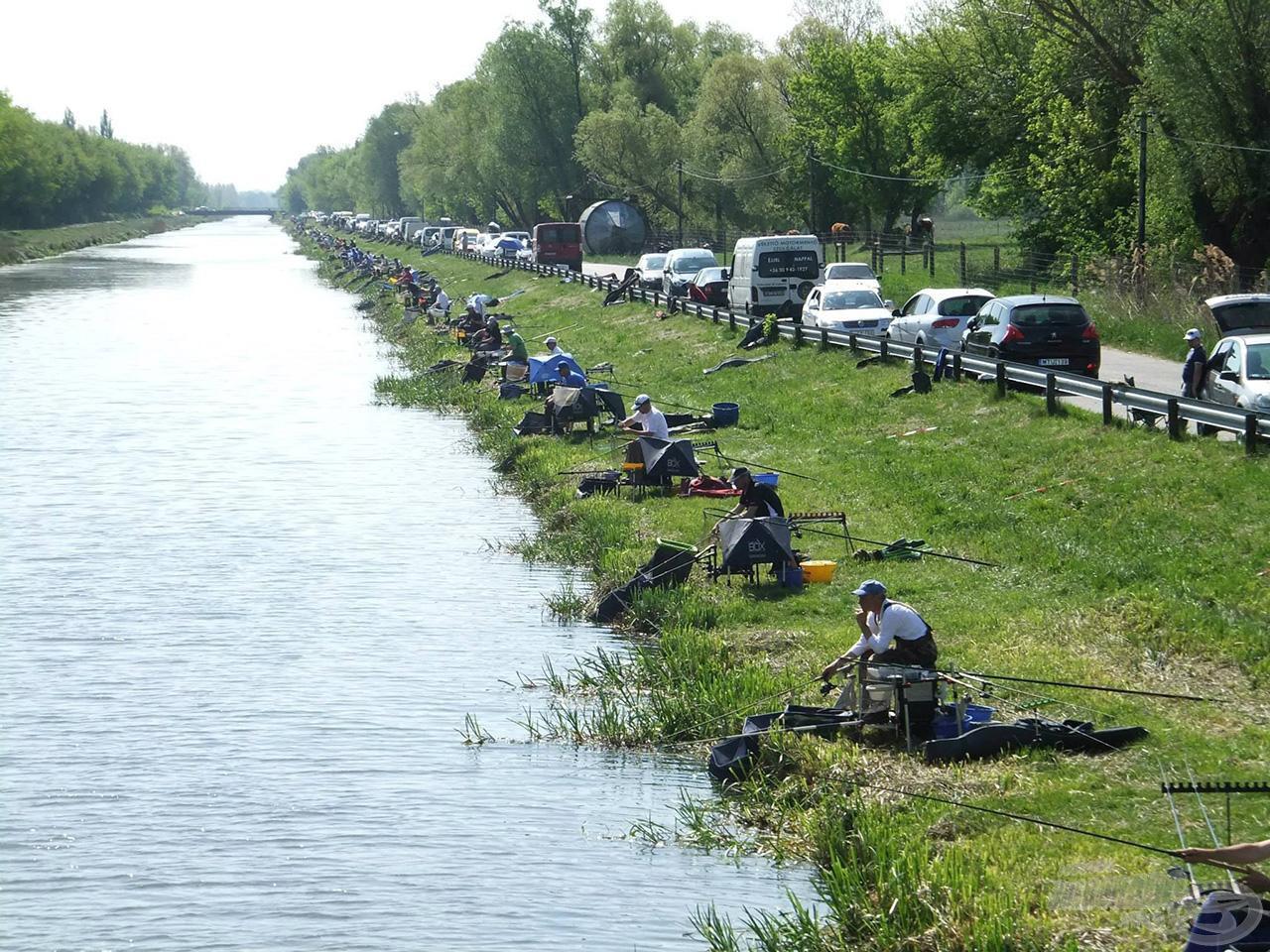 A pálya nem ismeretlen, több rangos versenynek adott már otthont a Mária-csatorna
