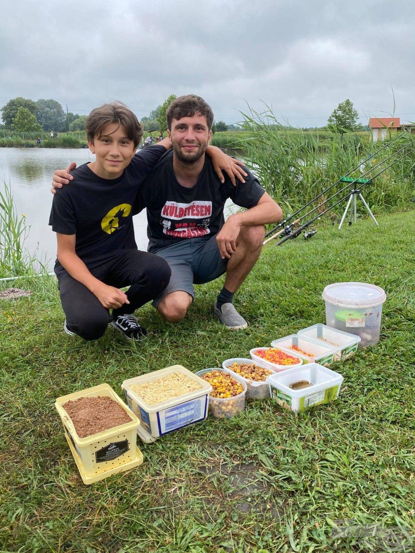 Örömmel tapasztaljuk, hogy a fiatal horgászpalánták milyen ügyesen odafigyelnek erre (is)