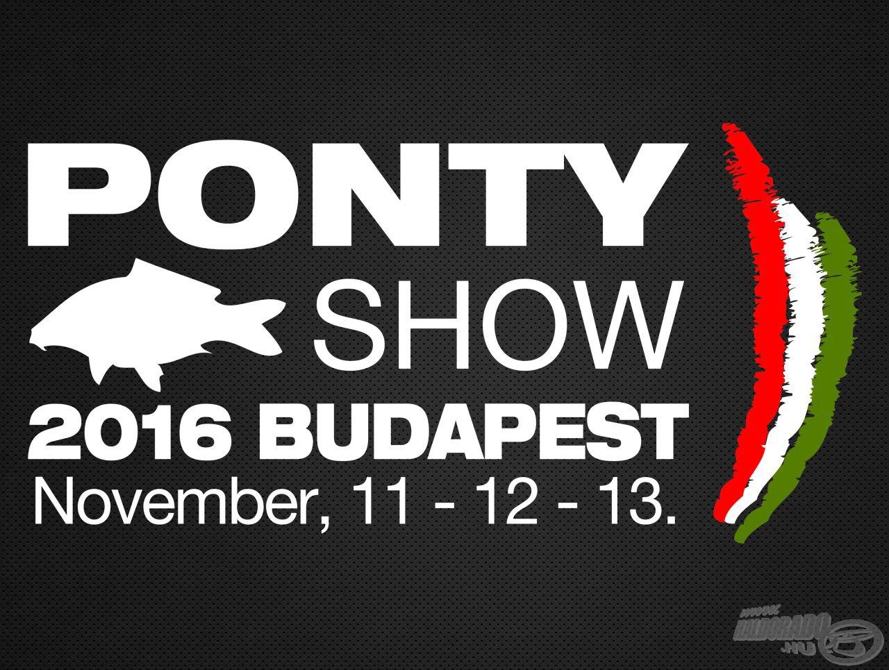 VIII. Magyarországi PontyShow - Közép-Európa legnagyobb pontyos eseménye