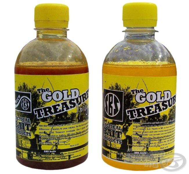 Jobbra a klasszikus Gold Treasure, balra a fűszeres attractánssal megbolondított Gold Treasure Spicy